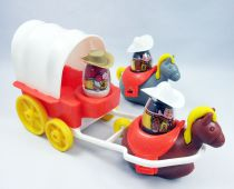 Weebles - Hasbro - Weebles Covered Wagon (loose)