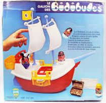 Weebles - Hasbro - Weebles Pirate Ship (loose with box)