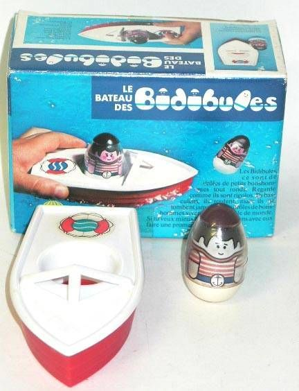 Weebles - Hasbro (Accessorie) - Weebles boat (loose with box)