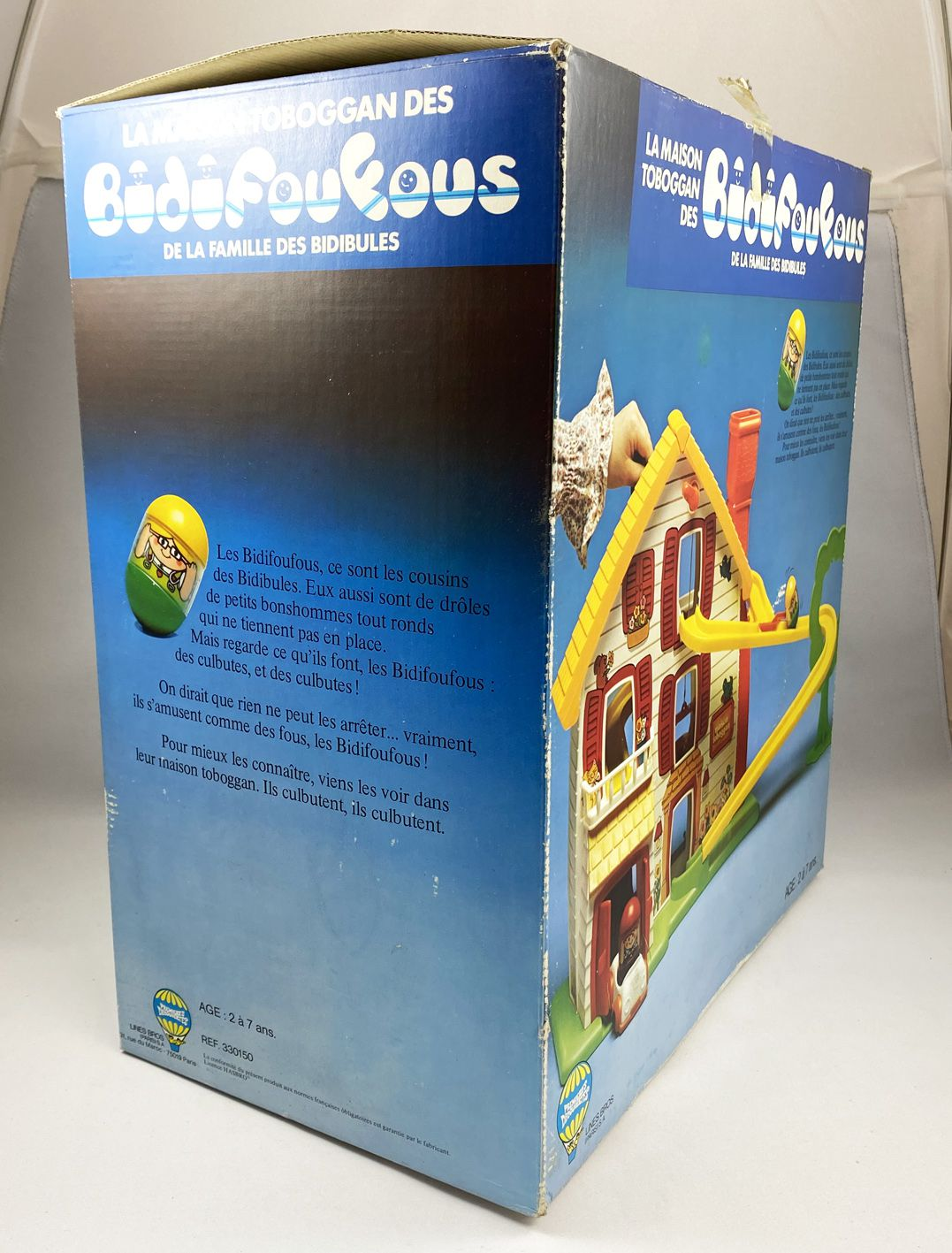 Weebles - Hasbro (Lines Bros) - Weebles Slide House (mint in box)