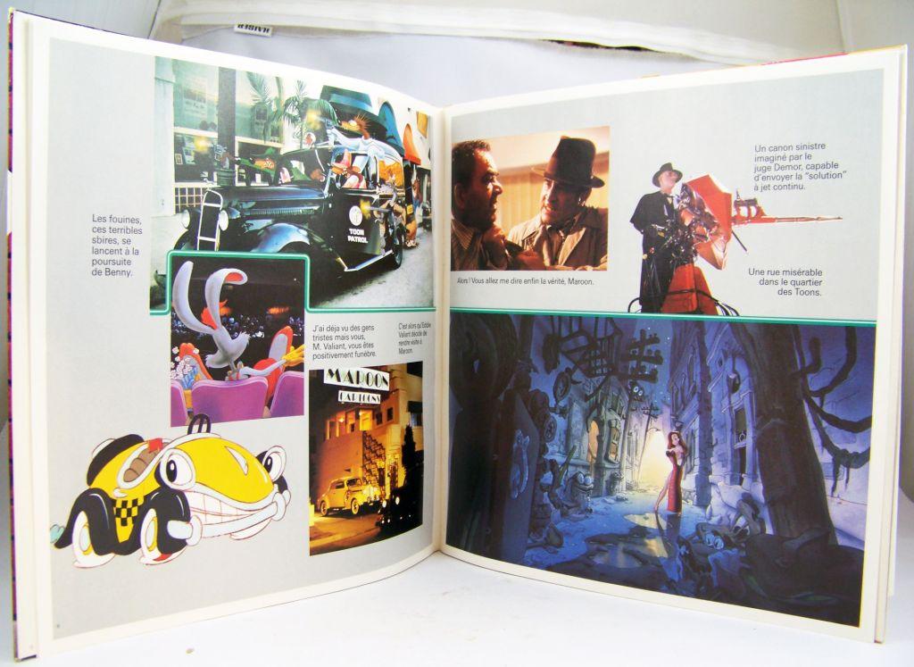 Qui veut la peau de Roger Rabbit - Livre-Disque 33t - Buena Vista Records1988 02