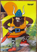 Wickie the Viking - Poster n°3 Halvar - Comer Lisboa 1976