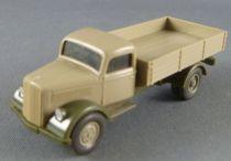 Wiking 335 Ho 1/87 Camion Plateau Opel Blitz bi-color