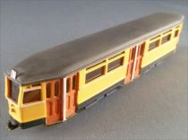 Wiking Yellow Trailer Berlin Tramway 14cm