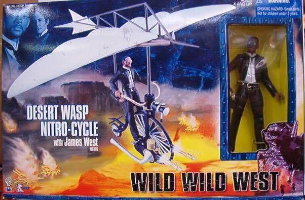 Wild Wild West - X-toys - Desert Wasp Nitro-Cycle