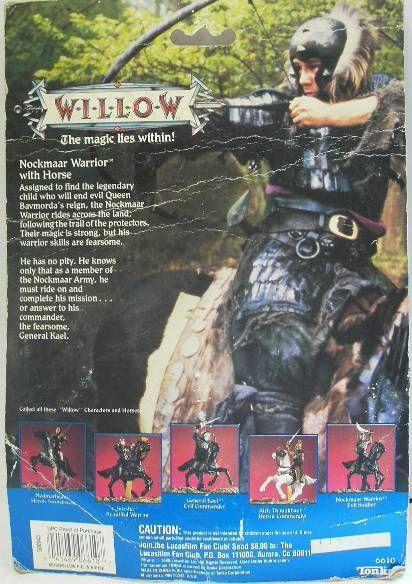 Willow - Tonka - Nockmaar Warrior and Horse (mint on card)