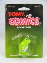 Wind-Up - Tomy Comics Pocket Pets - Frog