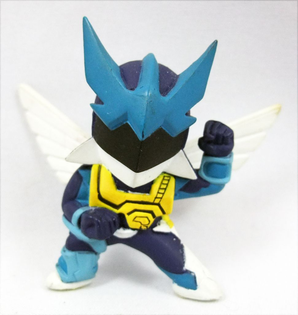 Wingman - Banpresto - Figurine PVC Super-Deformed Wingman bleu