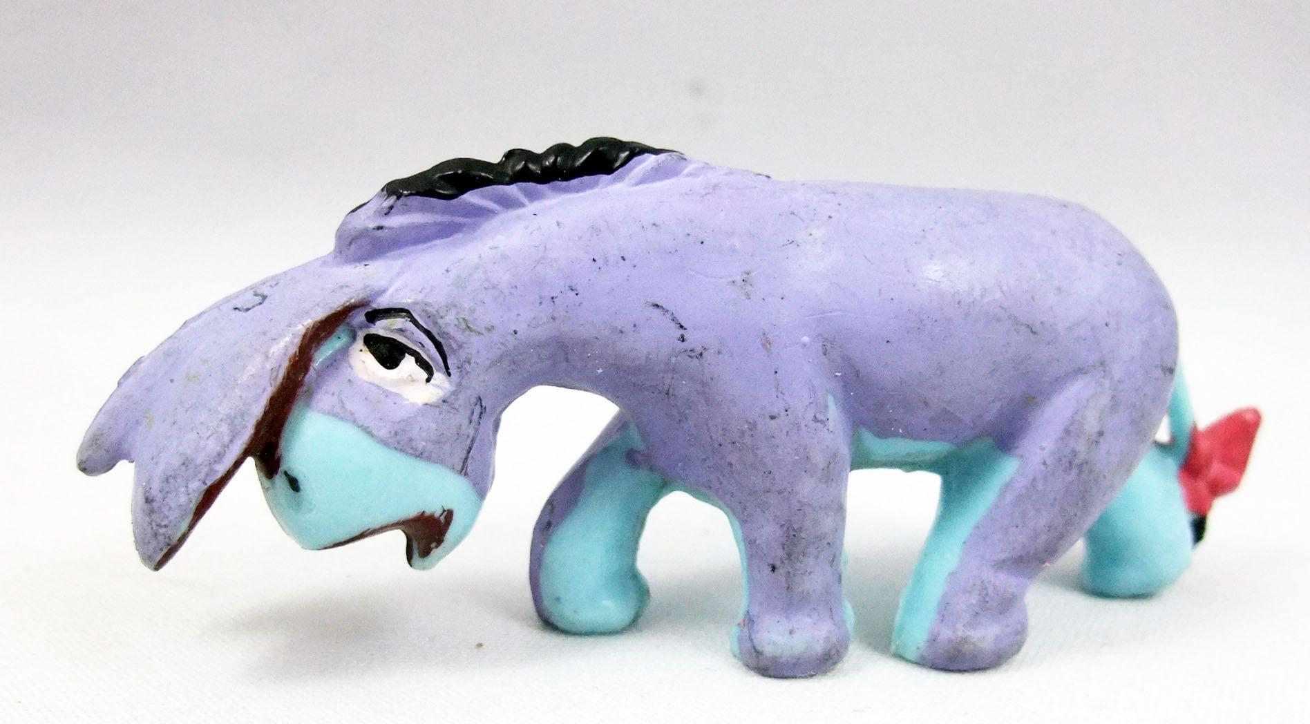 Winnie l\'ourson - Figurine JIM - Bourriquet (corps bleu)