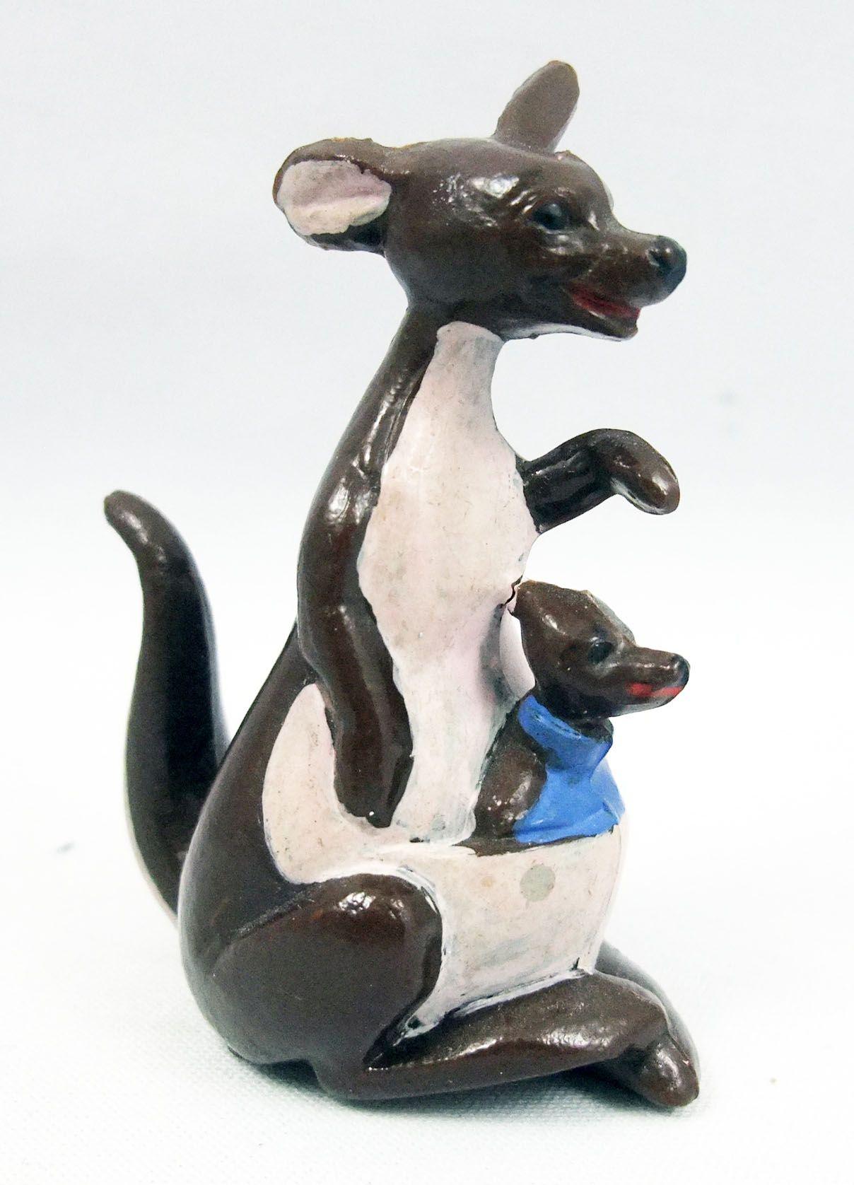 Winnie l\'ourson - Figurine JIM - Maman Gourou & Petit Gourou