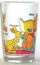Winnie the Pooh - Amora mustard glass - Winnie armchair and book