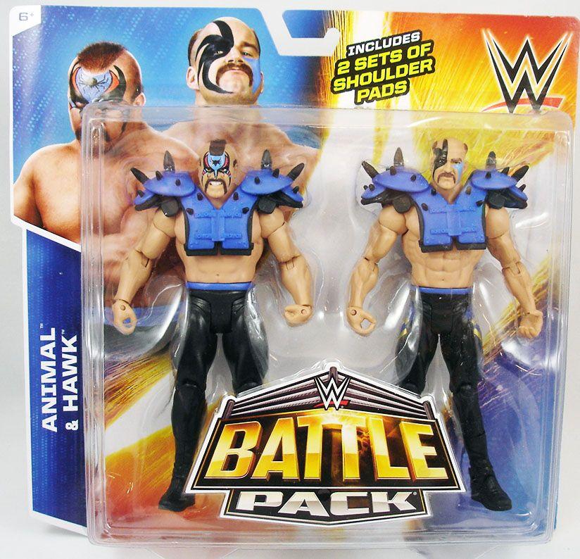 WWE Mattel - Animal & Hawk  Legion of Doom (Battle Pack)