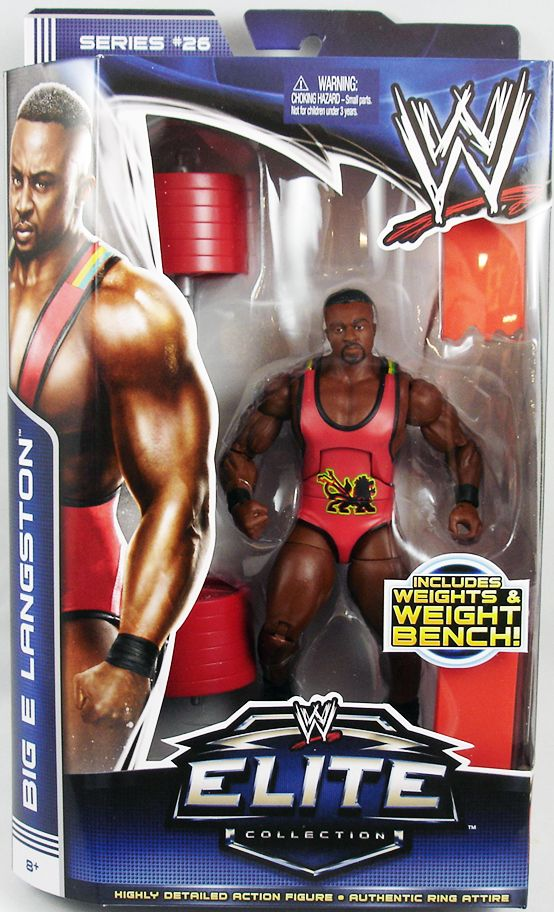 WWE Mattel - Big E Langston (Elite Collection Série 26)