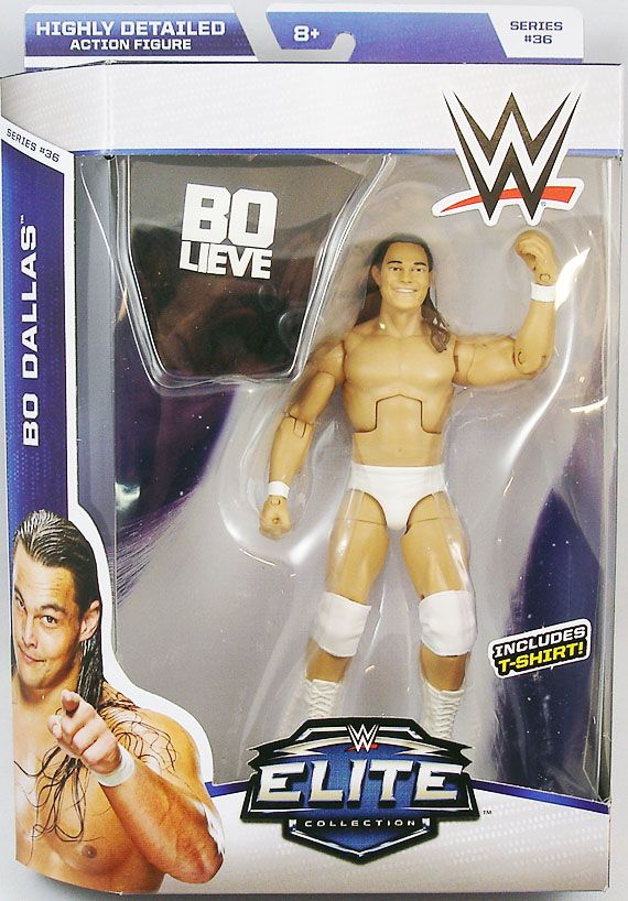 WWE Mattel - Bo Dallas (Elite Collection Série 36)