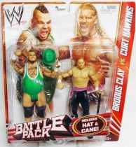 WWE Mattel - Brodus Clay & Curt Hawkins (Battle Pack)