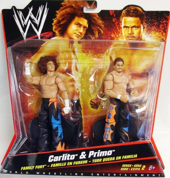 WWE Mattel - Carlito & Primo (Double Pack Series 2)