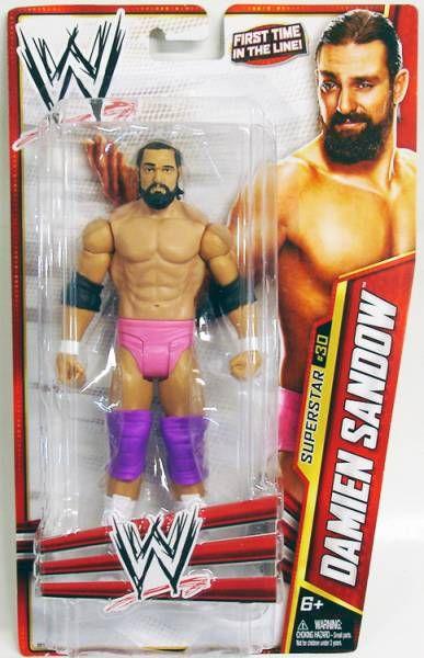WWE Mattel - Damien Sandow (2013 Basic Superstar #30)