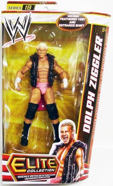 WWE Mattel - Dolph Ziggler (Elite Collection Série 19)