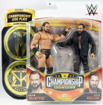 WWE Mattel - Drew McIntyre & Seth Rollins (Championship Showdown Series 4)