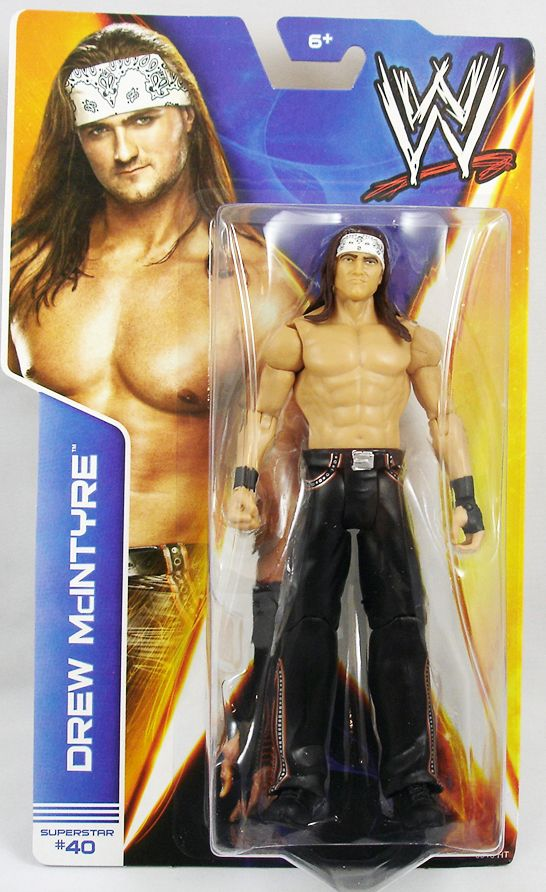 WWE Mattel - Drew McIntyre (2014 Basic Superstar #40)