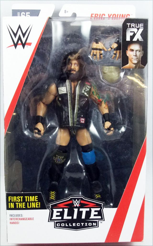 WWE Mattel - Eric Young (Elite Collection Série 65)