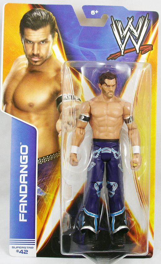 WWE Mattel - Fandango (2014 Basic Superstar #42)