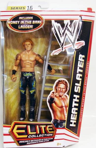 WWE Mattel - Heath Slater (Elite Collection Série 16)