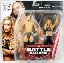 WWE Mattel - James Ellsworth & Carmella (Battle Pack Series 53)