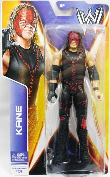 WWE Mattel - Kane (2014 Basic Superstar #01)