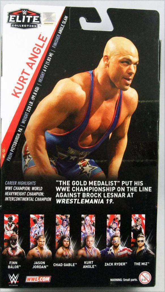WWE Mattel - Kurt Angle (Elite Collection Série 59)