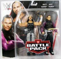 WWE Mattel - Matt Hardy & Jeff Hardy (Battle Pack Series 53)