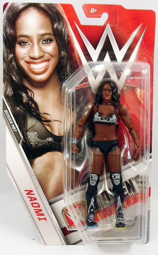 WWE Mattel - Naomi (2016 Basic Superstar series 67)