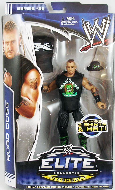 WWE Mattel - Raod Dogg (Elite Collection Série 26)