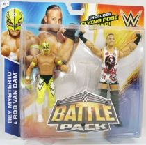 WWE Mattel - Rey Mysterio & Rob Van Dam (Battle Pack)