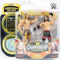 WWE Mattel - Riddle & AJ Styles (Championship Showdown Series 4)