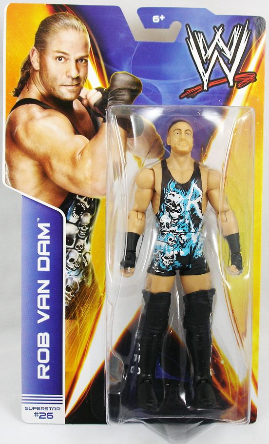 WWE Mattel - Rob Van Dam (2014 Basic Superstar #26)