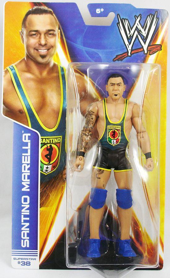 WWE Mattel - Santino Marella (2014 Basic Superstar #38)