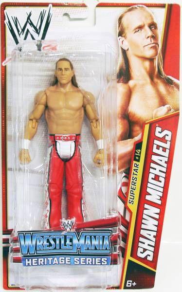 WWE Mattel - Shawn Michaels (2013 Basic Superstar #14)