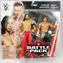 WWE Mattel - Shinsuke Nakamura & Dolph Ziggler (Battle Pack Series 53)