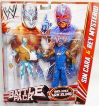 WWE Mattel - Sin Cara & Rey Mysterio (Battle Pack)