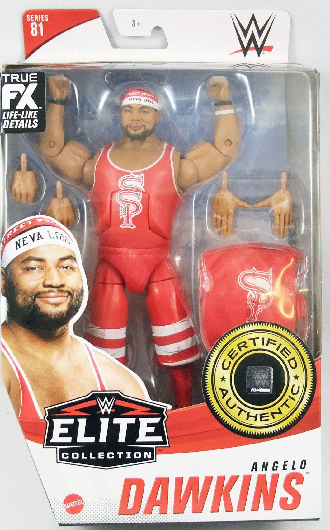 WWE Mattel - Street Profits\' Angelo Dawkins (Elite Collection Série 81)