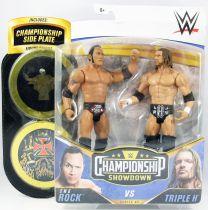 WWE Mattel - The Rock & Triple H (Championship Showdown Series 2)