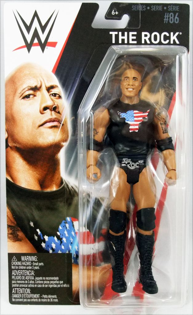 WWE Mattel - The Rock (2018 Basic Superstar Series 86)