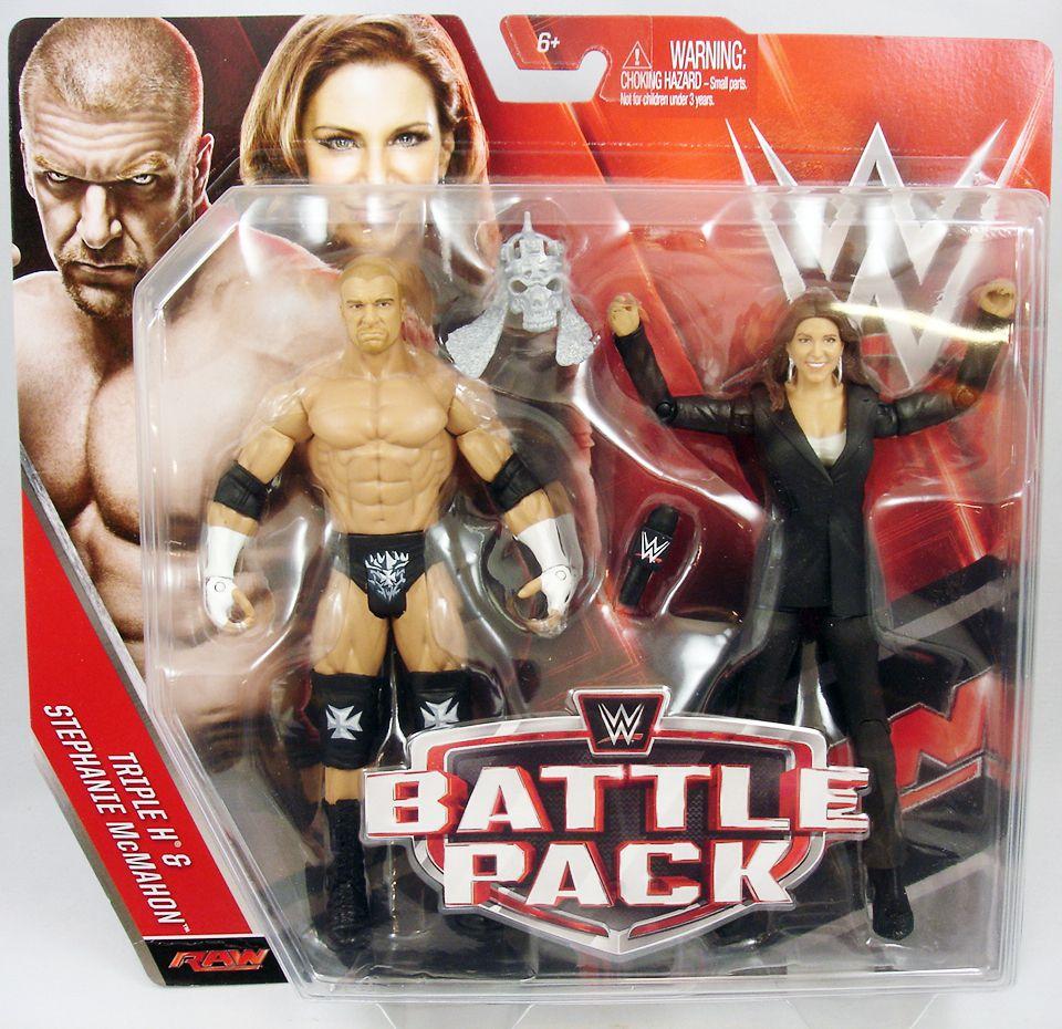 WWE Mattel - Triple H & Stephanie McMahon (Battle Pack Series 42)