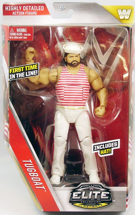 WWE Mattel - Tugboat (Elite Collection Série 44)