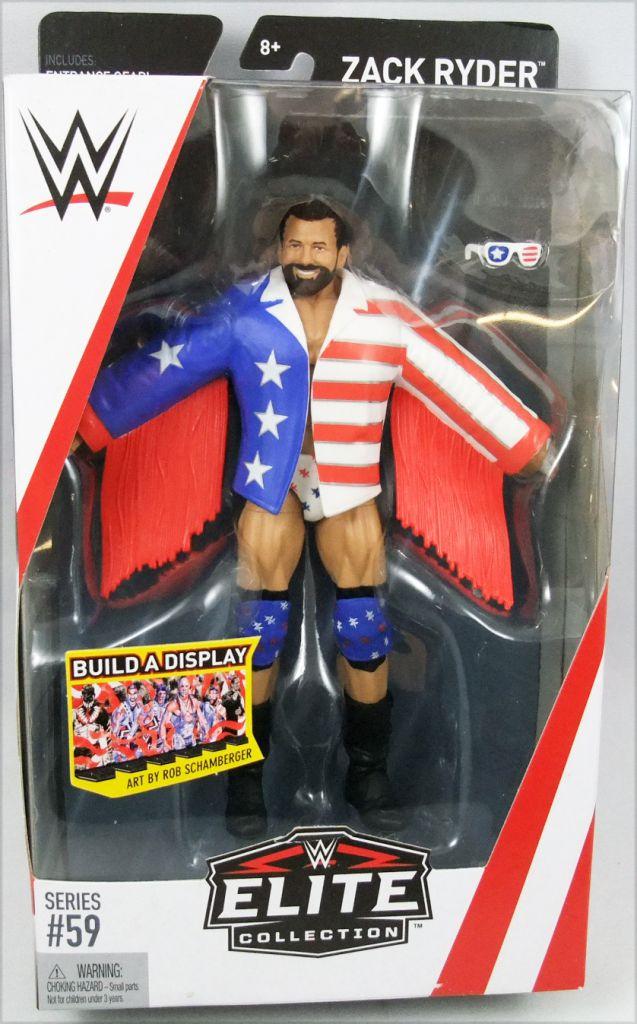 WWE Mattel - Zack Ryder (Elite Collection Série 59)