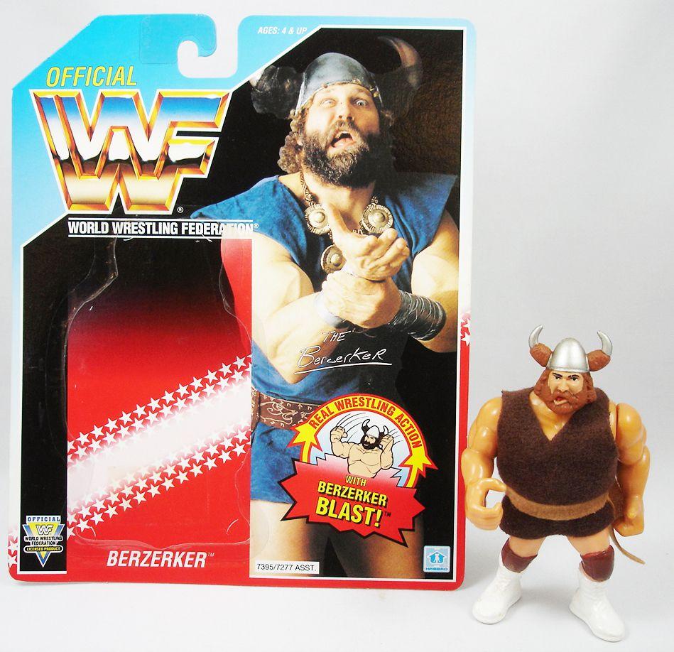 WWF Hasbro - Berzerker (loose avec carte USA)