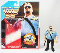 WWF Hasbro - Big Boss Man v.1 (loose avec carte USA)