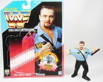 WWF Hasbro - Big Boss Man v.2 (loose avec carte USA)