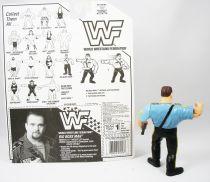 Hasbro Wrestling Figure WWF WWE The Big Boss Man US Blue 1992 UNUSED FedEx 【B2】